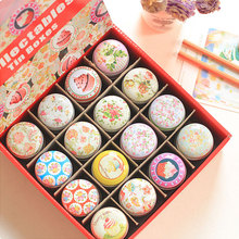 1 x Marca dragon circular MiNi iron box gift candy storage box wedding seal Jewelry Pill Cases tin box cable organizer container