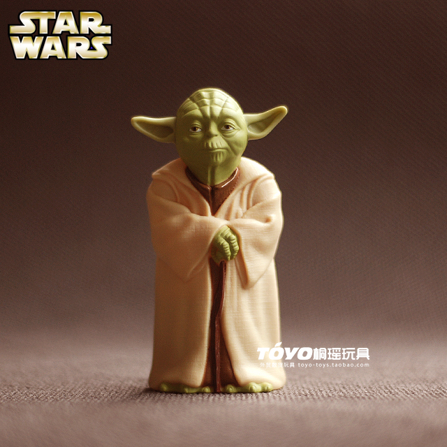 McDonalds 2009 version of Star Wars Jedi Master Yoda print classic doll ornaments elders<br><br>Aliexpress
