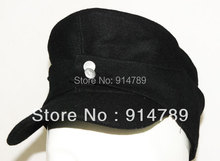 WWII GERMAN WH ELITE EM M43 PANZER WOOL FIELD CAP SIZE M-3461