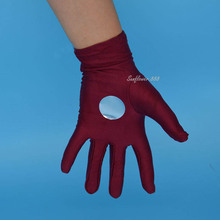 Iron Man Gloves Fancy Dress Halloween Child Adult Costume Accessory One Size Party Favors