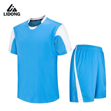 New Kids Boys Football Soccer Jerseys Uniforms futbol Training suit Breathable jersey set shirts pant DIY Customized number name