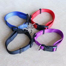 New Brand Soft Nylon dog collars for small dogs Pet Cat Collar 4 Sizes 4 colors adjustable dog collar