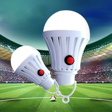 High Quality Emergency Light Bulb LED Rechargeable Energy Saving Street Lamp Night Market Of Tent Outdoor night light