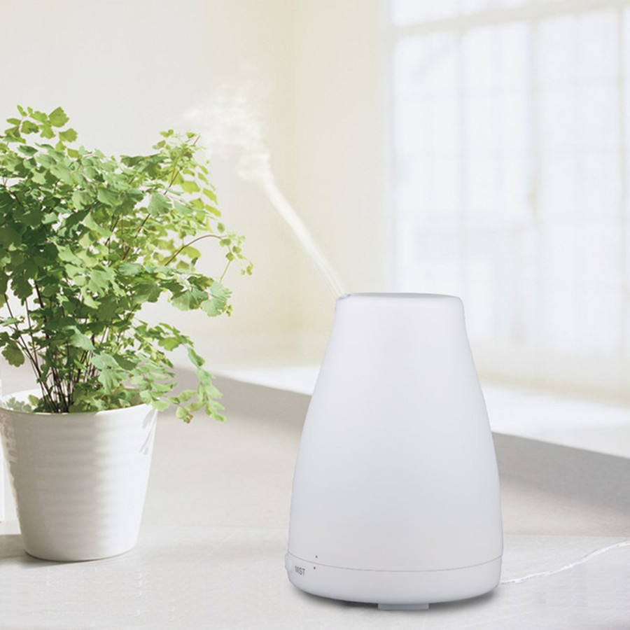 100ml Aroma Essential Oil Diffuser Ultrasonic Cool Mist Humidifier for Office Home Bedroom Living Room Study Yoga Spa Difusor de<br><br>Aliexpress
