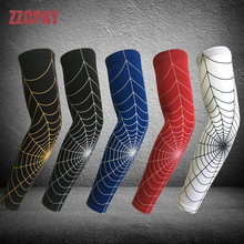 1 Piece New Brand ZZCPAY Men Elbow Pad Arm Heaters Cycling Basketball Sports Safety Long Arm Sleeve Support Elbow Protector