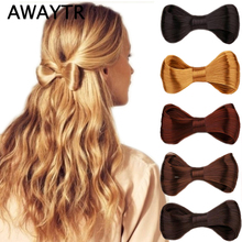 Buy AWAYTR Fashion Hair Bow Vintage Hair Clips 5 Colors Hairpins Big Bow Hair Barrettes Women Girls Hair Accessories Women for $1.29 in AliExpress store