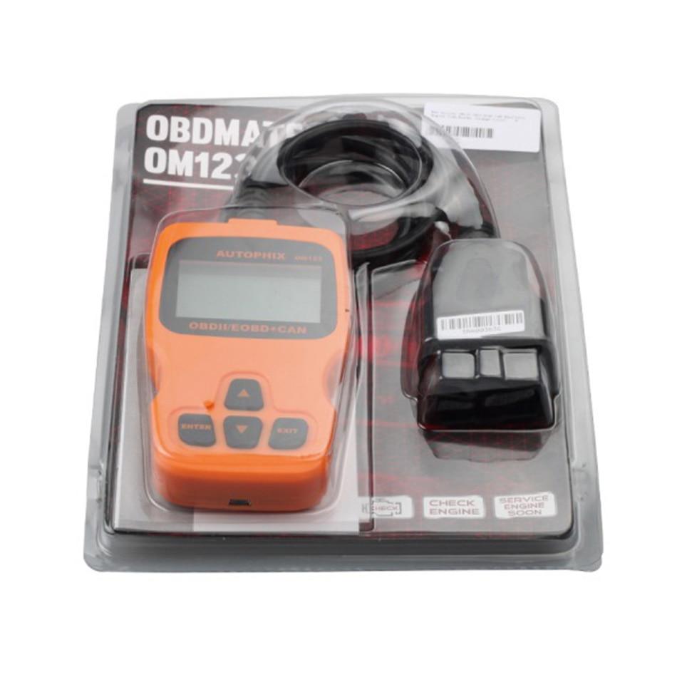 Autophix OM123 OBD OBD2 EOBD CAN Hand-held Engine Analyzer OM 123 Diagnostic Tool (1)