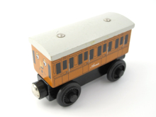 Wooden Thomas Train T003W Light ANNIE Thomas And Friends Magnetic Tomas Truck Car Locomotive Engine Railway Toys for Boys(China)