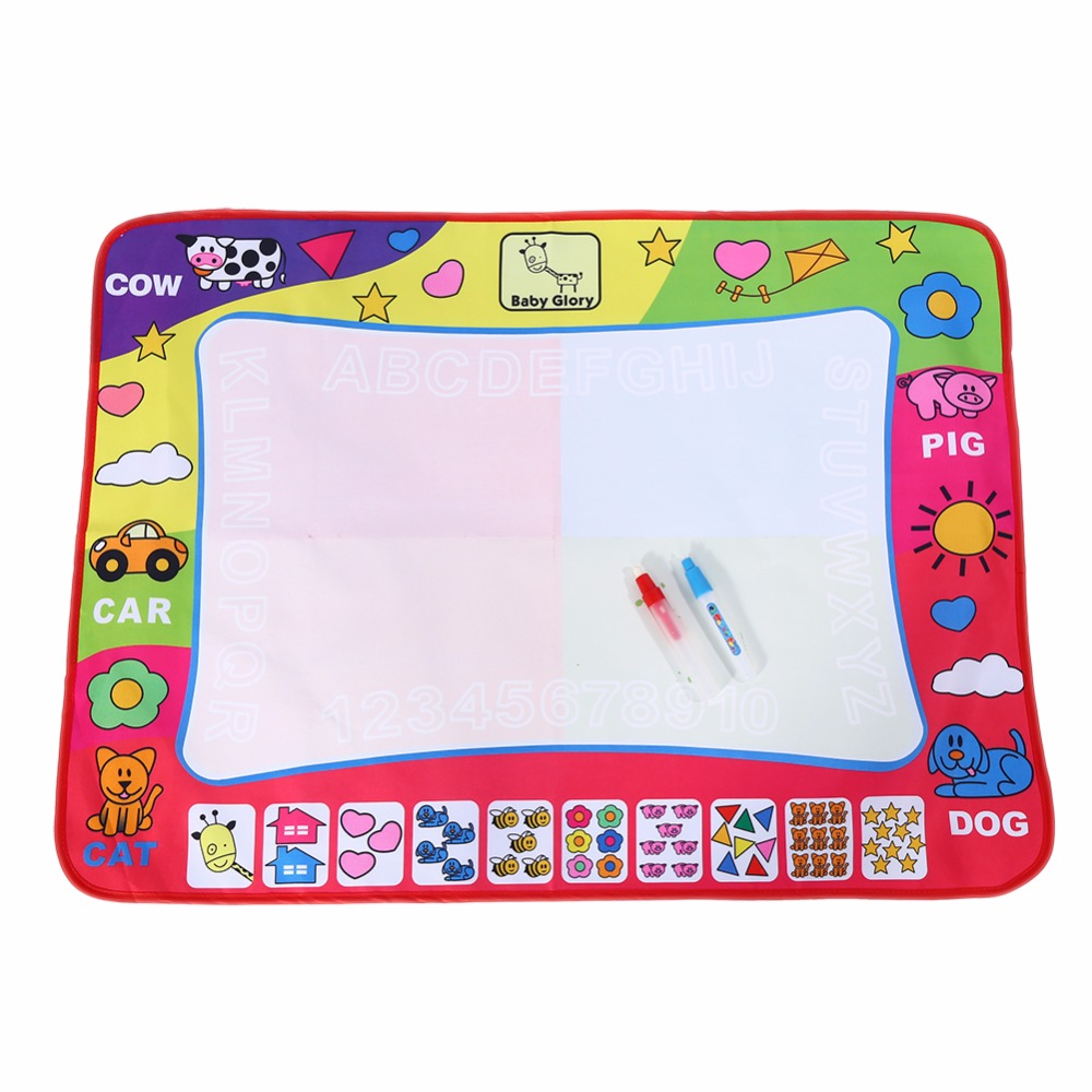 Children Painting Mat Water Painting Draw Writing Mat Kid Aquadoodle Developmental Doodle Board Kids Toy With Magic Pen(China (Mainland))
