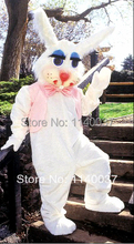 mascot Easter Bunny Rabbit Bugs mascot costume NEW costume cosplay Cartoon Character carnival costume fancy Costume party(China)