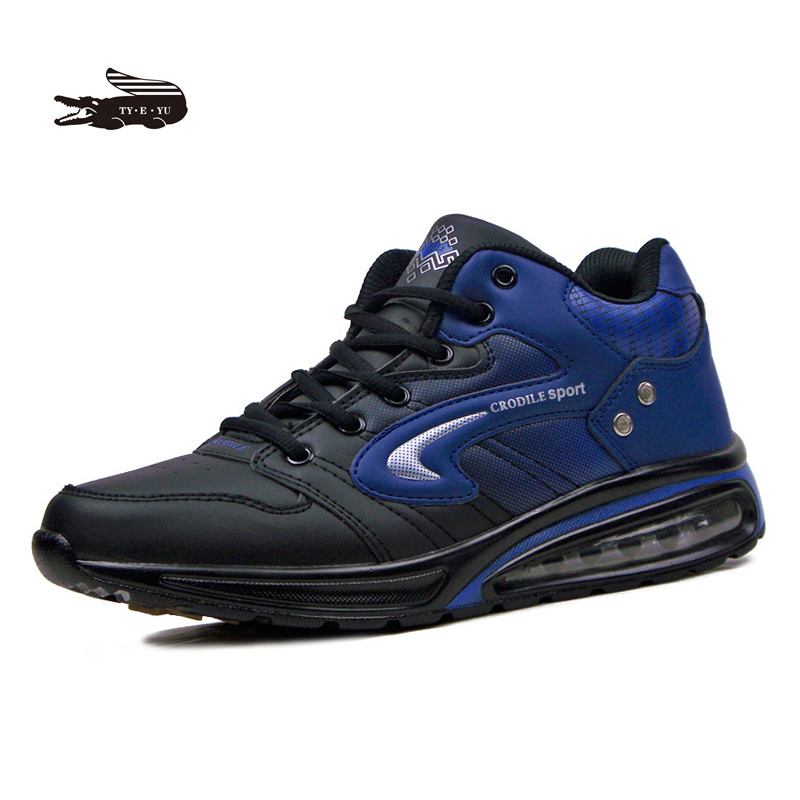 New 2016 Winter shoes Crocodile Bounce men running shoes Super cool Air Sole Athletic shoes outdoor shoes Soothing Walking Shoes<br>