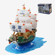 hot One Piece Navy General Cap Cruise Navy warship naval ship model assembled hands to do(China)