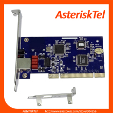 1 Port E1 card T1 card Asterisk Card with Low Profile for 2U,digium TE110P supports Asterisk,Elastix,PRI ISDN Card SS7