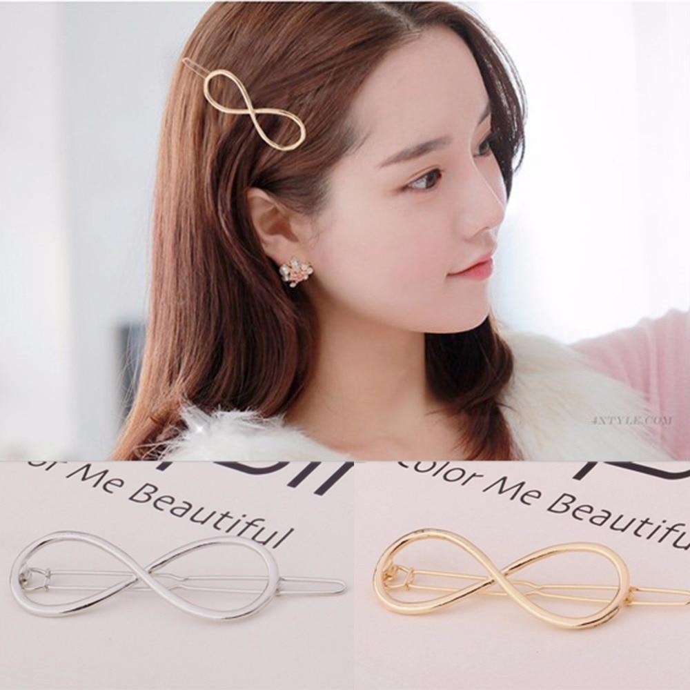 2018 Fashion Vintage Hairpins Bowknot Metal Hair Clip hair accessory wholesale