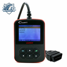 Free shipping 100% Online update Original Launch Creader VI creader 6 Auto code scanner with Russian,English,Spanish,Portuguese