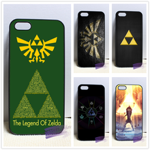 Big Triforce The Legend Of Zelda fashion cell phone case cover for iphone 4 4s 5 5s 5c SE 6 6s plus 7 plus #RE06