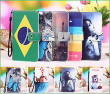 Phone Wallet case for coque Sony Ericsson Live With Walkman WT19i (3.2 inchs) phone case cover + Tracking