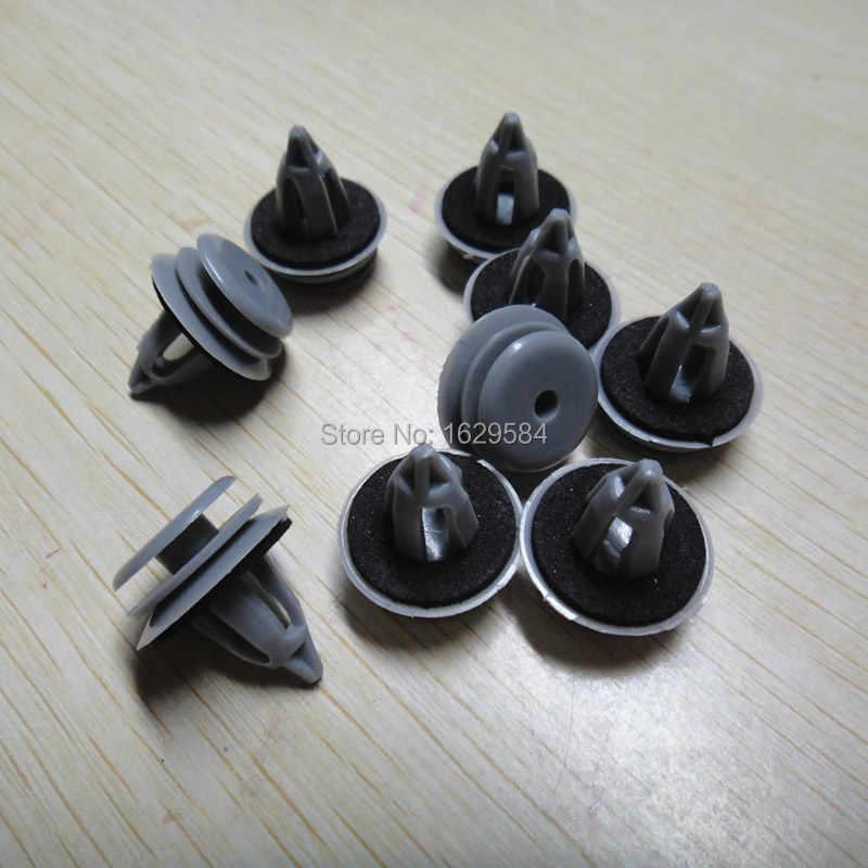20 x Retén De Tipo Empuje Ajuste De Parachoques Clip para BMW 51118174185 Nylon Negro