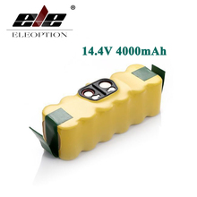 ELEOPTION 14.4V 4000mAh Ni-MH Battery for iRobot Roomba 500 510 530 532 534 535 540 550 560 562 570 580 600 610 700 760 770 780