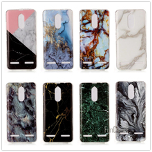 For Lenovo K6 Power Case 5.0 inch Granite Marble Skin Soft TPU Silicon Back Cover For Lenovo K6 Case Ultra Thin Phone Cases(China)