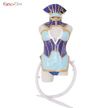 Halloween TIGER & BUNNY Blue Rose Costumes Karina Lyle PU Leather Costume Cosplay Anime movie costume Custom Made