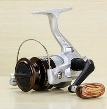 NEW HOT SALES 02000A 2017 Mini inshore ICE FLY CARP spinning fishing reel 8 stainless steel Ball Bearings lightweight(China)