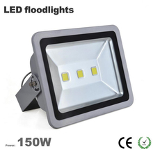 Free ship China factory Wholesale outdoor led flood light 150W IP65 waterproof 3 years warranty CE Rohs 100LM/W Epistar chip