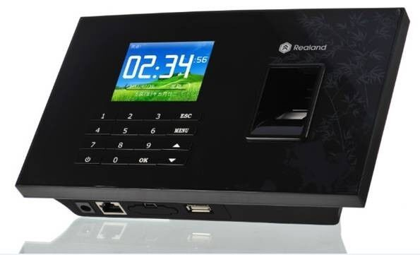 Free Ship,biometric fingerprint, Realand 3.5 Color TFT color  Screen, Fingerprint  &amp; em card, with TCP/IP,USB  sn: A-C051<br><br>Aliexpress