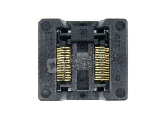Parts SSOP28 TSSOP28 OTS-28(34)-0.65-01 Enplas IC Test Burn-in Socket Programming Adapter 0.65mm Pitch 5.3mm Width<br>