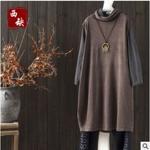 High quality new products listed in the spring of 2017, knitting cotton original design women vest of loose big yards(China)