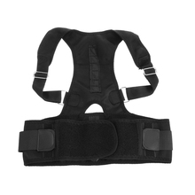 Adjustable Posture Corrector Belt Magnetic Support Corset Back Shoulder Lumbar Brace Spine Support Belt Posture Correction(China)