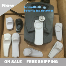 New Automatic Security Tag Detacher Hot Magnetic Security Tag Removers Flash Mount Detacher Free shipping