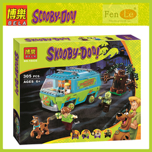 Bela 10430 Toys 109pcs Scooby Doo Mummy Museum Compatible with lepin Building Blocks bricks Toys for children gift