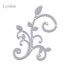 Lychee Metal Steel Bud Sprout Scrapbooking Die Cuts Craft Decorative Embossing Folder Suit Cutting Dies Paper Cards Template