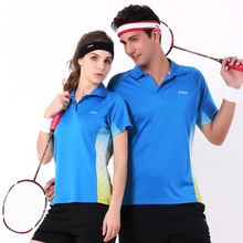 Summer Sports Women/Men Badminton Table Tennis Shirt Shorts Two Piece Set Sportswear Clothing Purchase Breathable Perspiration