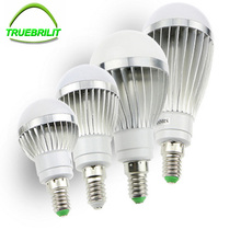 E14 LED Bulbs SMD 5730 Spotlights 220V Lamps Home Lighting Aluminum Real Watt 3W 5W 7W 9W