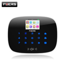 G19 IOS Android APP Wireless GSM Alarm System TFT Color Display Autodial Text Burglar Intruder Security Alarm