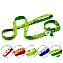 Quality Nylon Leash Set Collar for Dogs Christmas Gift Product for Pets Coleira Para Cachorro Dog Accessories Free Shipping