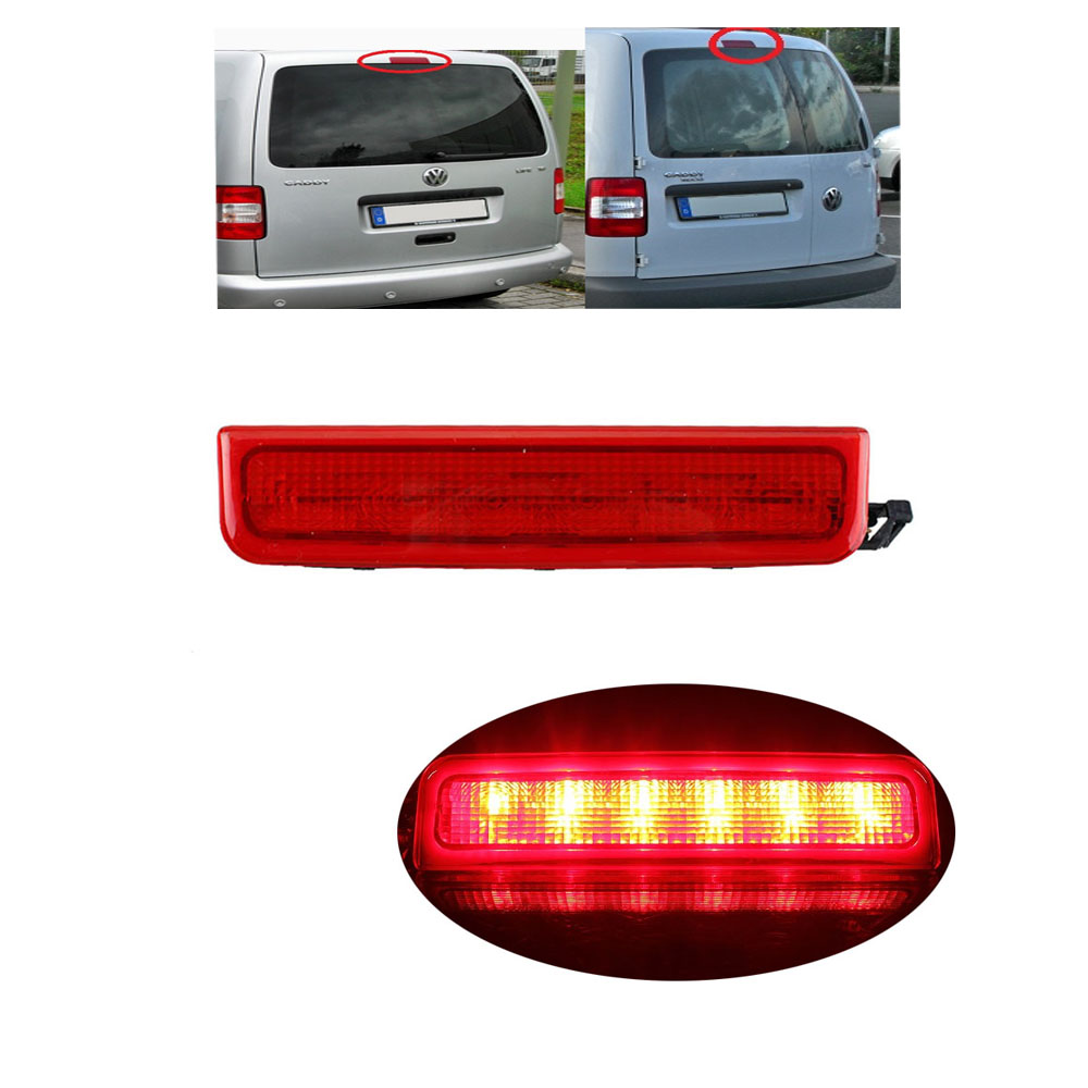For VW Caddy 2003-2013 Third 3rd Centre High Level Brake Light 2K0 945 087C<br><br>Aliexpress