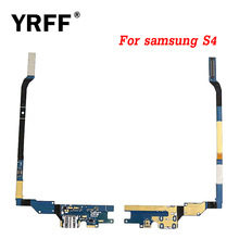 YRFF AAA Flex Cable Ribbon Charging Port Dock Connector USB Socket For Samsung Galaxy S4 GT i9505 i9500 i337 Charging Flex(China)