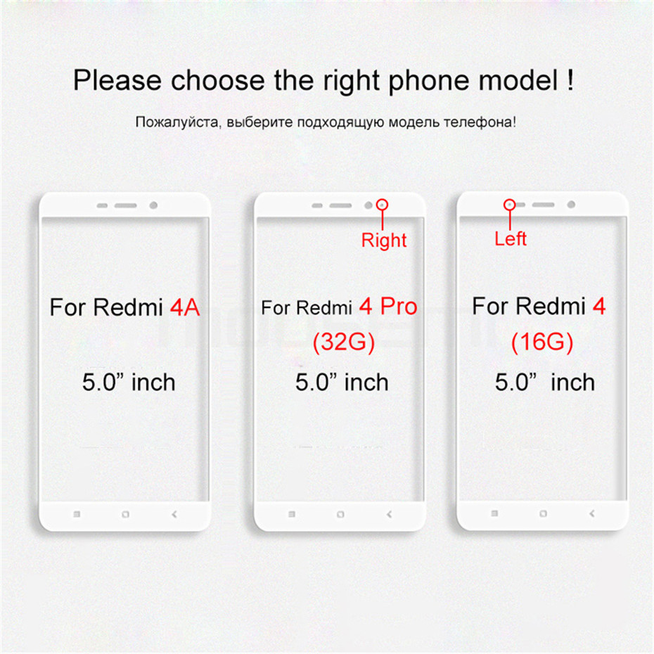 Tempered Glass For Xiaomi Redmi 4a 4 Pro Screen Protector Scratch Proof Cover Protective Glass on Film For Xiaomi Redmi 4 4A pro (1)