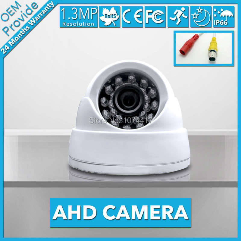 AHD2413R-SE AHD Analog 1280*960P 1.3MP  Camera indoor Security  Waterproof good  Night Vision surveillence<br>