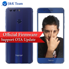 "Huawei Honor 8 4G 64GB NFC OTA Update LTE Smartphone Octa Core Dual Side Glass 5.2"" Screen Dual Back Camera 12MP Mobile Phone(China)"
