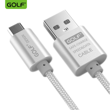 GOLF 3m Ultra Long Fast Charging USB Data Sync Charge Cable For iPhone 5S 6 7 8 X LG G3 G4 Samsung S6 S7 Edge Phone Charger Wire(China)