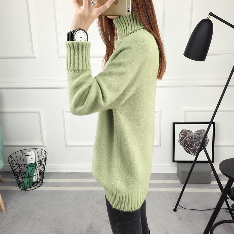 Winter Turtleneck Sweater, Women's 2017 New Design Thick Pullover 21
