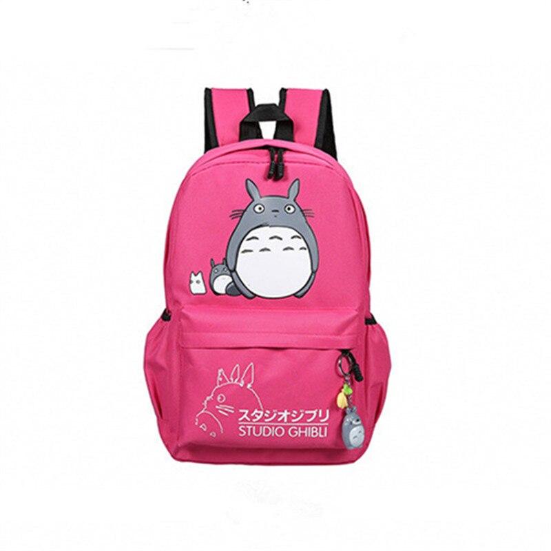 Preppy Style Totoro Printing Laptop Bags Large Canvas Backpacks for Teenage Girls Kawaii Travel Rucksack Mochila Escolar Q197<br><br>Aliexpress