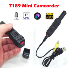 New T189 Full HD 1080P Mini Pen Voice Recorder / Digital Video Camera With Clip Mini DV Camera Camcorder Camara Voice recorder
