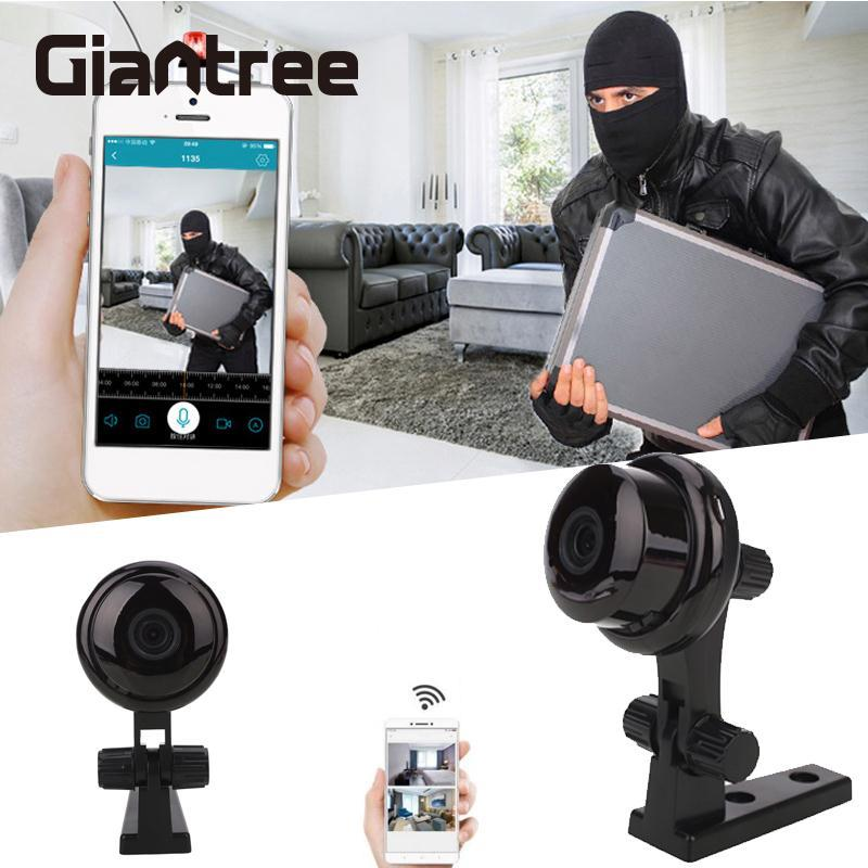 giantree 960P Wireless Mini WiFi Smart Night Vision IP Camera Video Security Surveillance Anti - theft camera  Baby Monitor<br>
