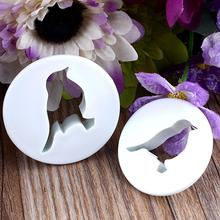 2x Bird Shape Cookie Cutters Biscuit Maker Fondant Mold Sugarcraft Cake Icing Baking Mould Kitchen Tool DIY