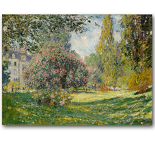 Claude Monet Many Colors Available Impressionist Landscape Poster Print Original Canvas Oil Painting Home Wall Art Gift(China)